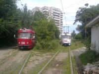 Тверь. Tatra T3SU №215, Tatra T3SU №209