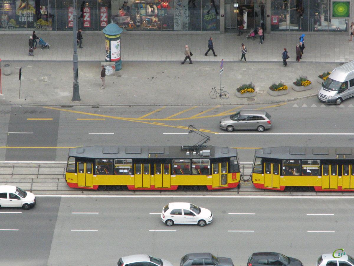 Варшава. Konstal 105N №1239