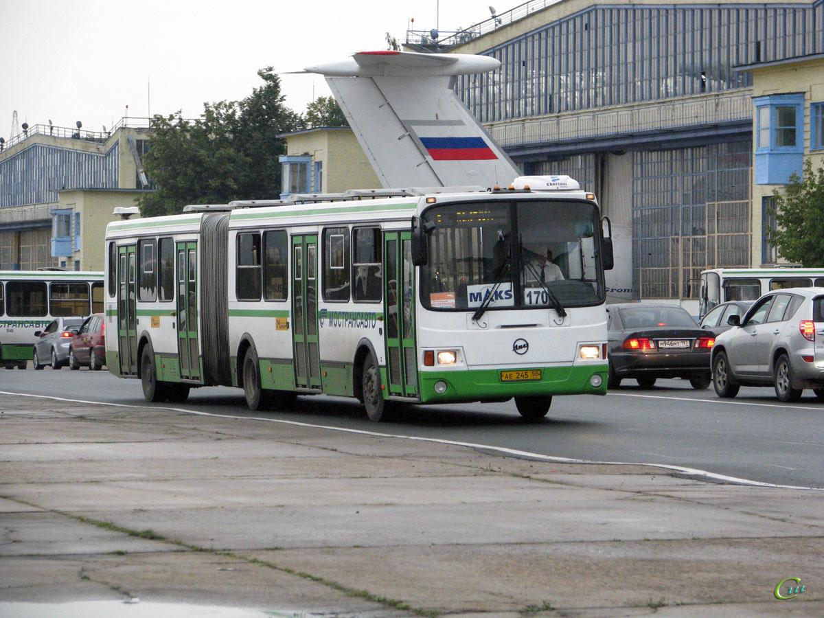 Жуковский. ЛиАЗ-6212.01 ае245