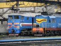 Рыбинск. ЧМЭ3-2237, 2ТЭ116-952