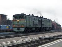 Рыбинск. 2ТЭ10В-3455