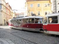 Прага. Tatra T3R.PLF №8257