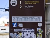 Львов. Трамвайный аншлаг на остановке Улица Русская