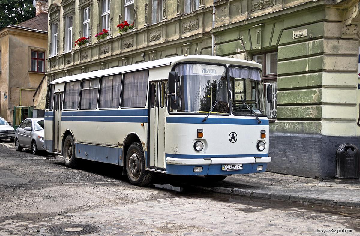 Львов. ЛАЗ-695Н BC4591AB