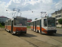 Тверь. Tatra T6B5 (Tatra T3M) №14, 71-608К (КТМ-8) №161