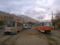 Тверь. Tatra T3SU №205, Tatra T6B5 (Tatra T3M) №25, 71-608К (КТМ-8) №159