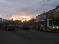 Тверь. Tatra T6B5 (Tatra T3M) №14, Tatra T6B5 (Tatra T3M) №25, 71-608К (КТМ-8) №163