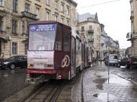 Львов. Tatra KT4D №1158