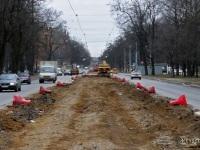 Санкт-Петербург. Реконструкция трамвайного полотна на 2-м Муринском проспекте
