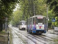 Львов. Tatra KT4 №1090, Tatra KT4 №1073
