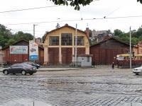 Львов. Бывшее трамвайное депо, а ныне служба пути на улице Дмитрия Витовского
