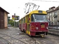 Львов. Tatra T4 №006