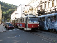 Прага. Tatra T3SUCS №7176