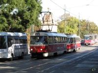 Прага. Tatra T3 №7017