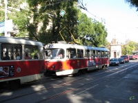 Прага. Tatra T3 №7034