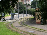 Львов. Трамвайная конечная станция Погулянка
