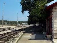 Пула. Вокзал станции Пула, первая платформа