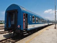 Пула. Пассажирский поезд №1472 «Istra» (Будапешт-Пула), Станция Пула