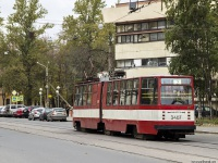 Санкт-Петербург. ЛВС-86К №3407