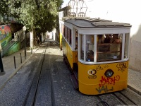 Лиссабон. (фуникулёр — модель неизвестна) №2