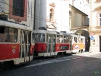 Прага. Tatra T3 №7066, Tatra T3 №7067