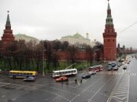 Москва. ЗиУ-5Г №2672, ЗиУ-5 №2323, ЗиУ-682В №1152