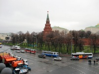 Москва. ЗиУ-682Г00 №2536, ТролЗа-5275.00 №2720, ЗиУ-682В №1152