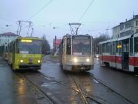 Тверь. Tatra T6B5 (Tatra T3M) №22, 71-608К (КТМ-8) №155, 71-608К (КТМ-8) №159