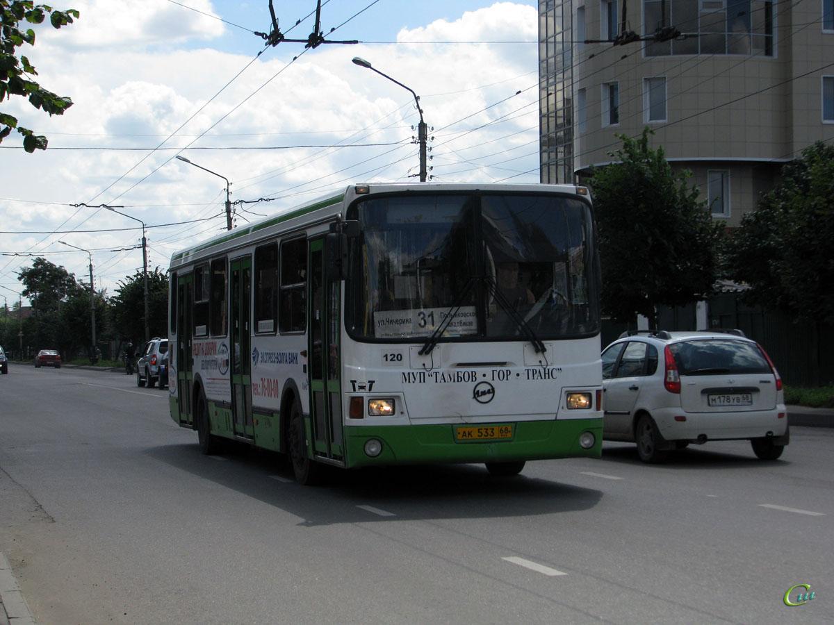 Тамбов. ЛиАЗ-5256.36 ак533