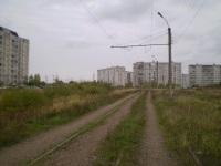 Тверь. Закрытая трамвайная линия в поселок Южный по улице Можайского