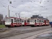 Санкт-Петербург. 71-134А (ЛМ-99АВ) №3305, 71-134К (ЛМ-99К) №0425