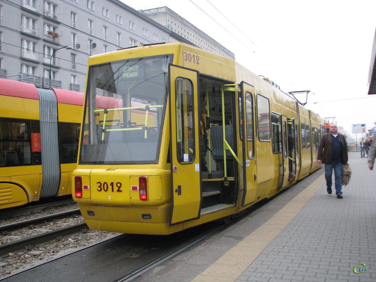 Варшава. Konstal 116Na №3012