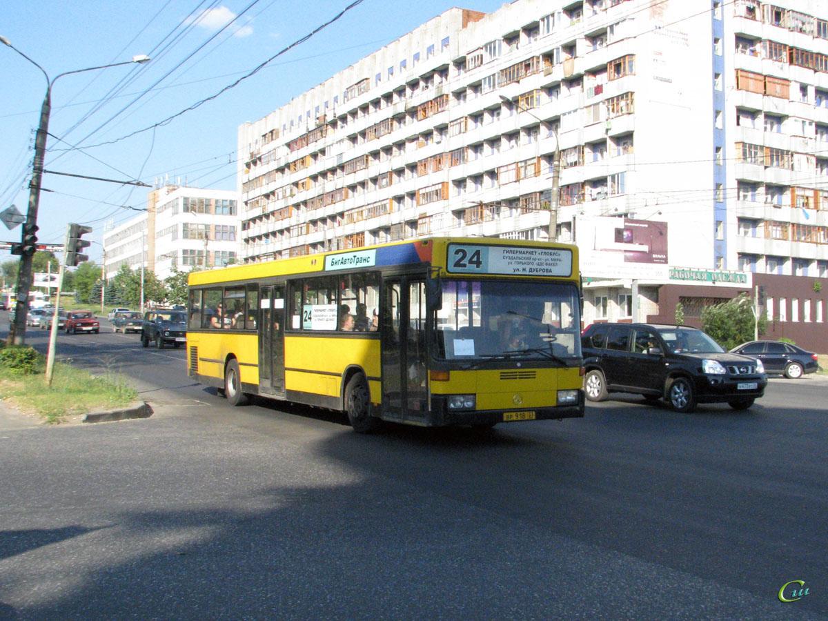 Владимир. Mercedes O405N вр918