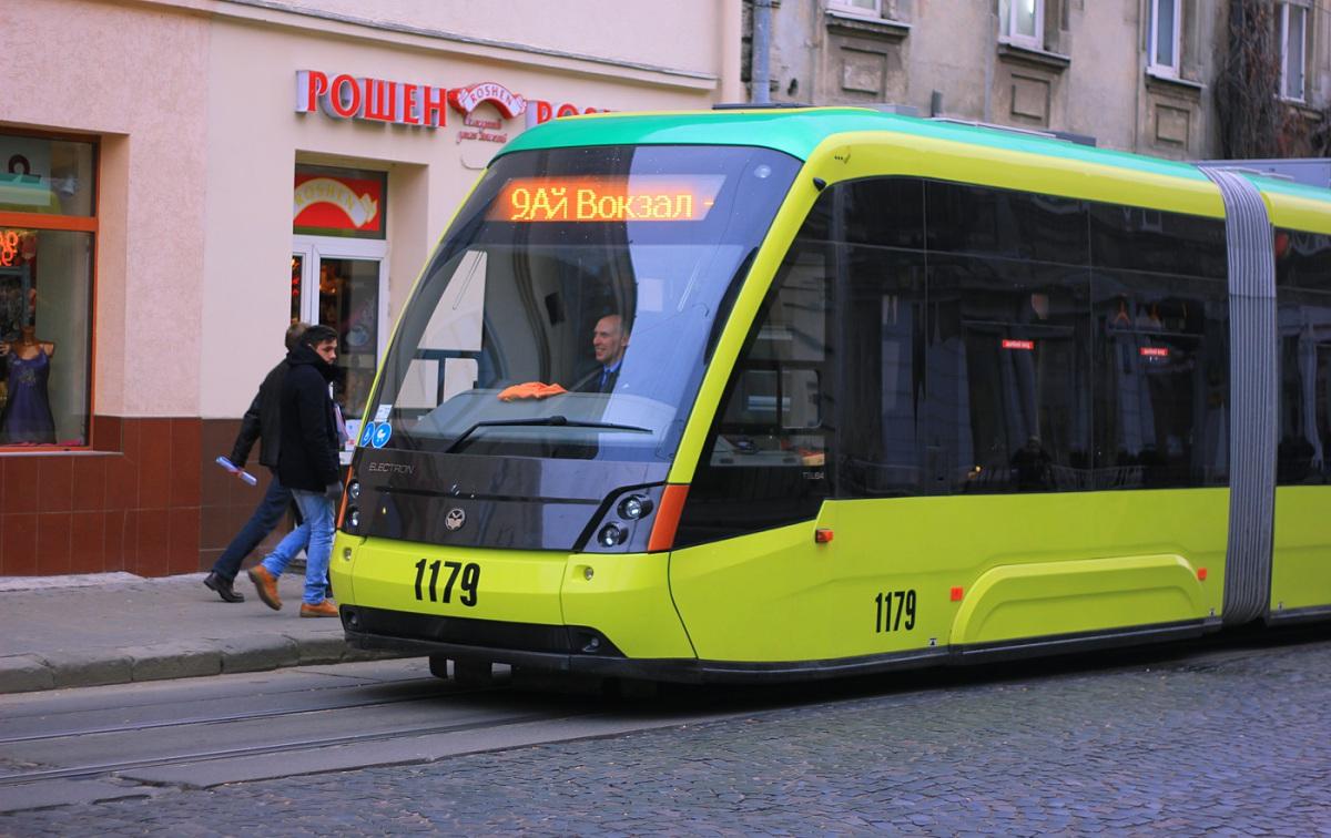 Львов. Electron T5L64 №1179