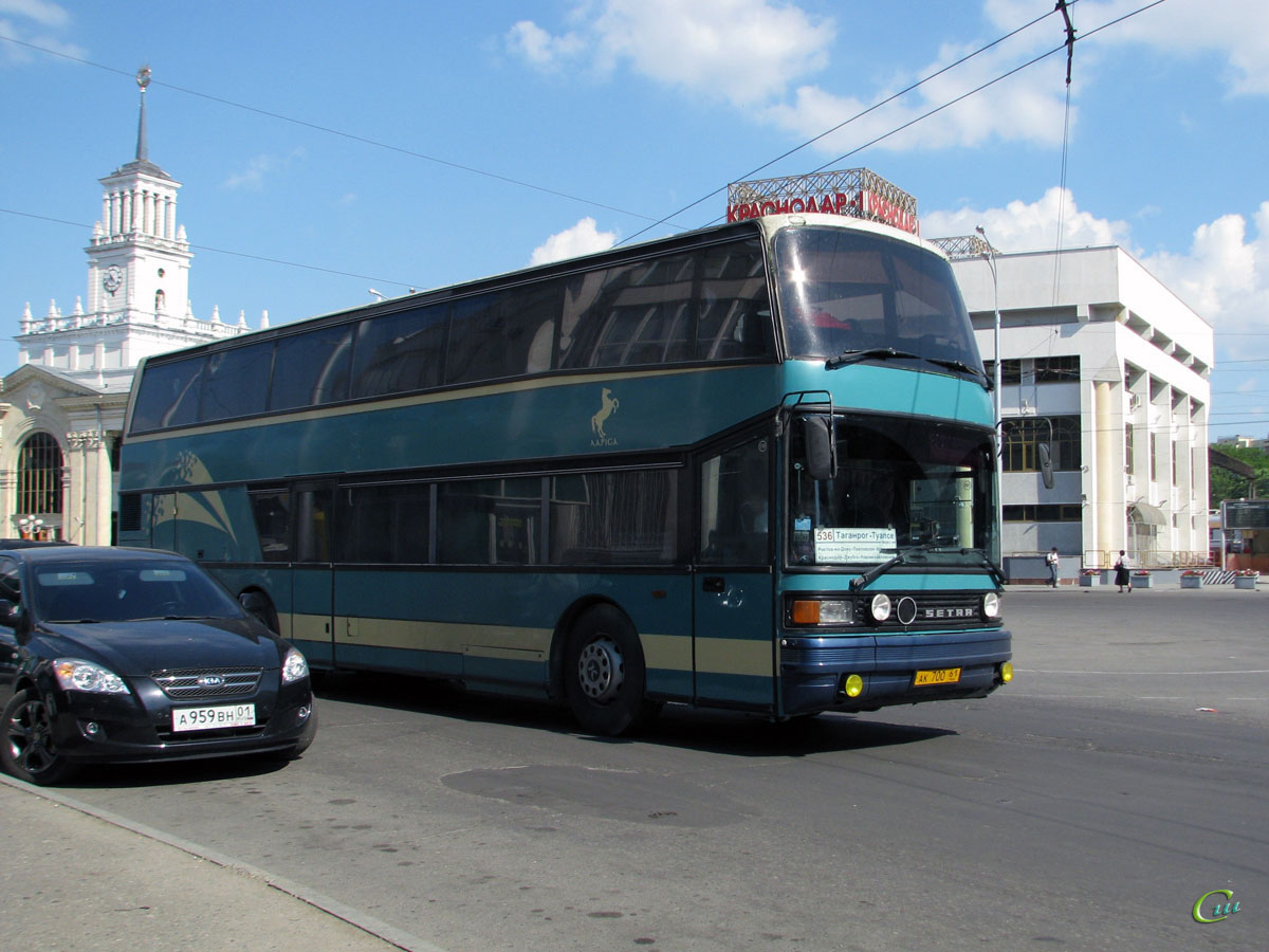 Краснодар. Setra S228DT ак700