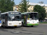Псков. Mercedes O345G аа495, ЛиАЗ-6212.00 ав381