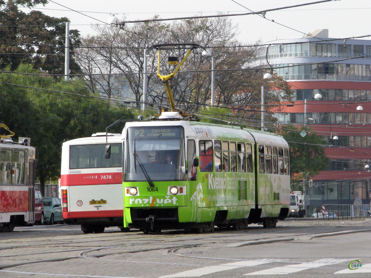 Брно. Tatra K2R №1064