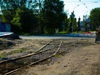 Санкт-Петербург. Строительство проезжей части на улице Жукова