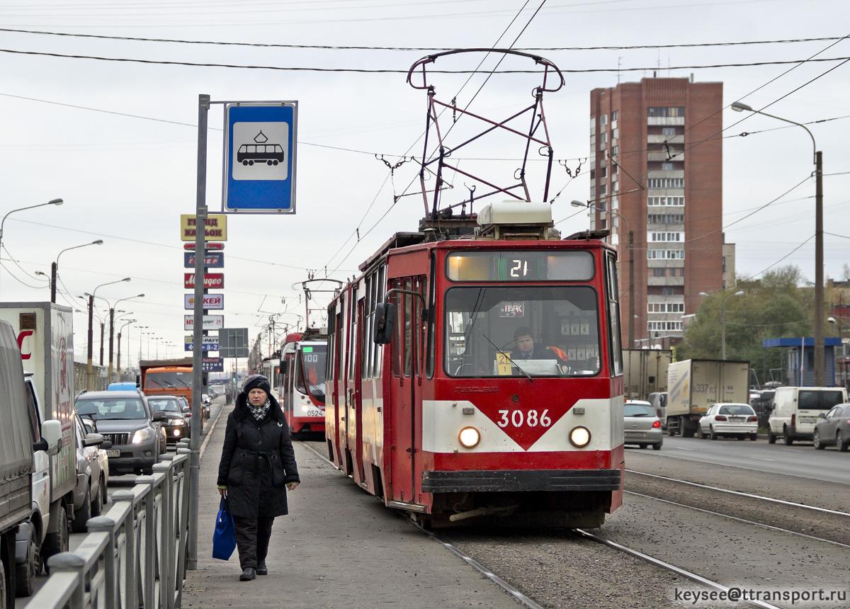 Санкт-Петербург. ЛВС-86К №3086