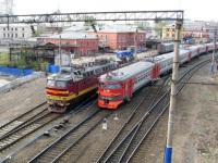 Нижний Новгород. ЧС4т-560, ЭР9ПК-322