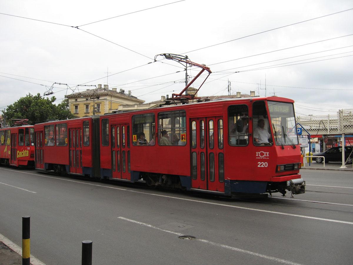 Белград. Tatra KT4 №220, Tatra KT4 №322