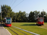 Белград. CAF Urbos 3 №1502, Tatra KT4 №372