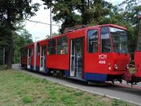 Белград. Tatra KT4 №406