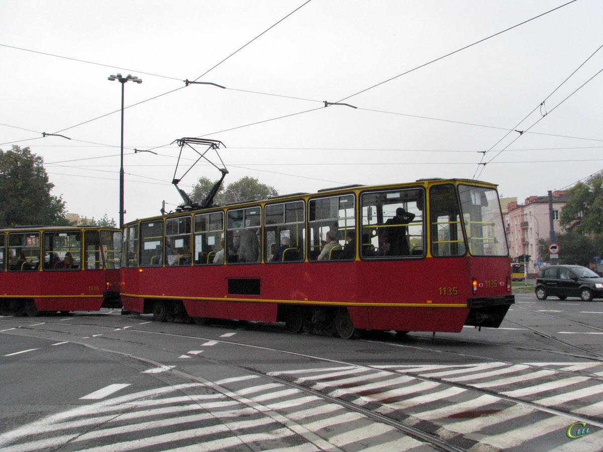 Варшава. Konstal 105N №1135