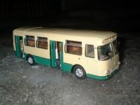 Модель автобуса КАвЗ-3100 «Сибирь»
