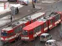Санкт-Петербург. ЛВС-86К №5104, ЛВС-86К №5107