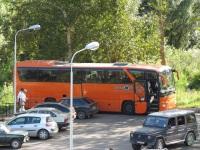 Великий Новгород. Mercedes O350 Tourismo аа853