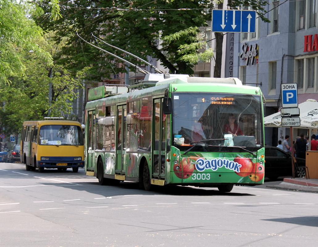 Одесса. ТролЗа-5265.00 №3003, Богдан А091 BH3534AA