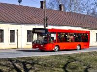 Выборг. МАЗ-206 в521те