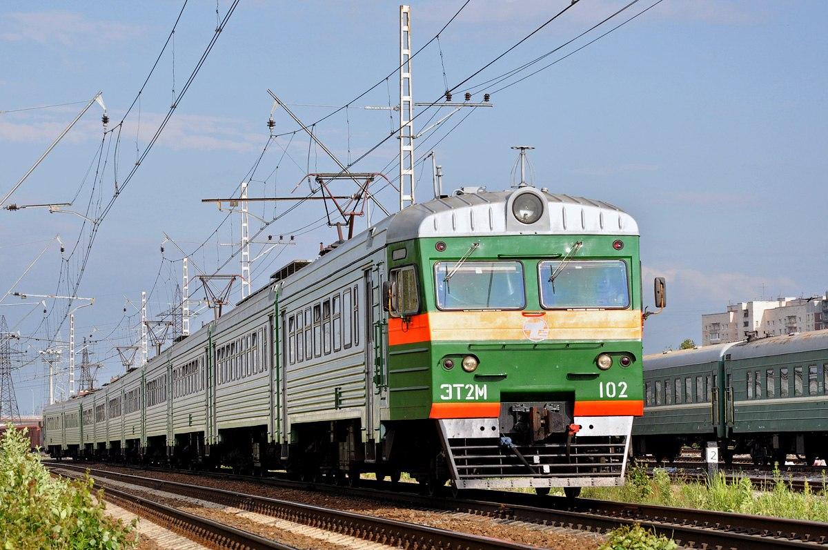 Санкт-Петербург. ЭТ2М-102